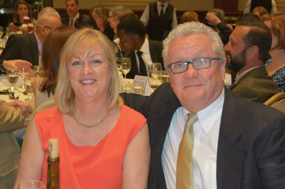 Stamford Citizens of the Year Jay Sandak and Mary Sommer were honored at the annual dinner on April 18, 2016. Were you SEEN?