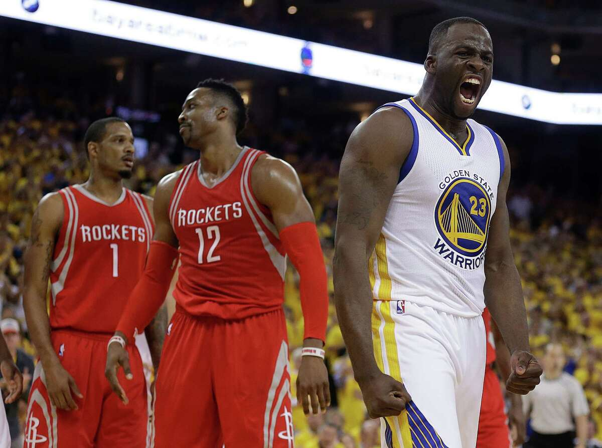 First round Game 2 April 18: Warriors 115, Rockets 106 Even without their star Steph Curry, the Warriors were still able to hold off the Rockets in Oakland. Record: 2-0 Warriors lead series