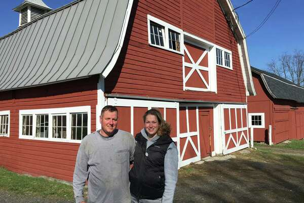 Stephanie and Mark Maynard have been selected by the Roxbury Land Trust to lease the Good Hill Farm located on the Roxbury-Woodbury town line.