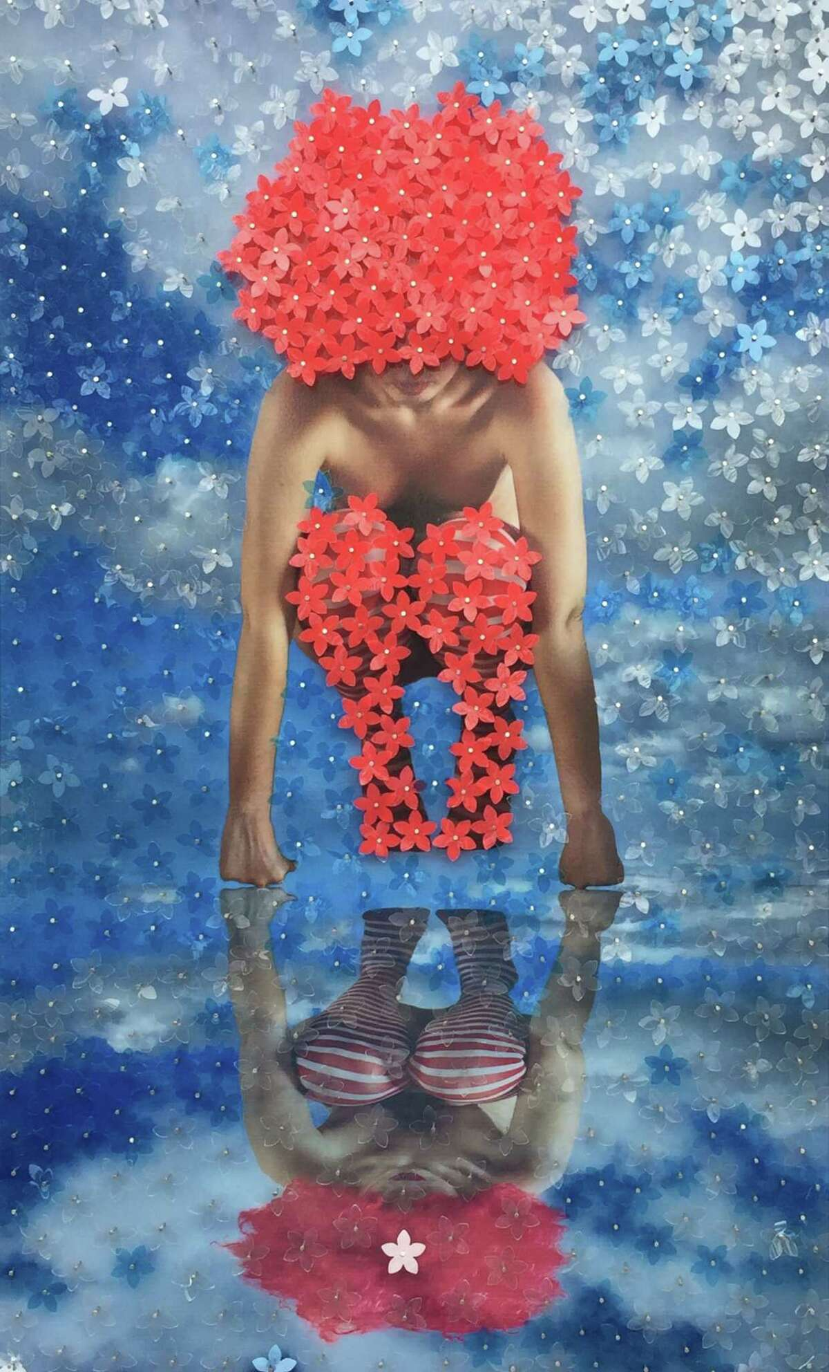"""""""Reflected,"""" a digital image by Mabel Poblet Pujol, will be on display in the new Two Steps Forward: Contemporary Cuban Art"""" exhibition at the Westport Arts Center."""