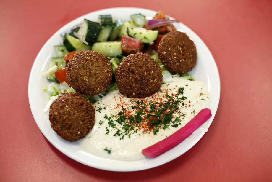 The falafel plate at Sunrise Deli on Irving Street in the Sunset neighborhood of San Francisco. Photo: Connor Radnovich, The Chronicle