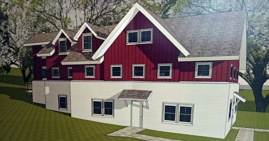 The parsonage proposed by Chabad Lubavitch of Fairfield for the former Elks Club property. Photo: Contributed Photo /Hearst Connecticut Media / Fairfield Citizen contributed
