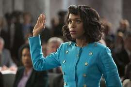 """Kerry Washington as Anita Hill in HBO's 2016 film """"Confirmation."""""""