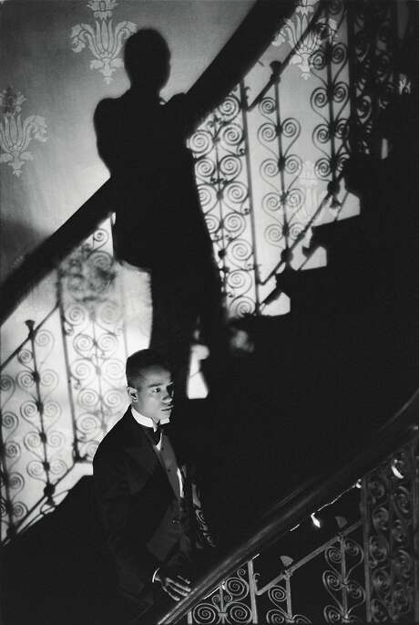 "Isaac Julien, ""Film Noir Staircase"" (1989). Photo: Jessica Silverman Gallery"