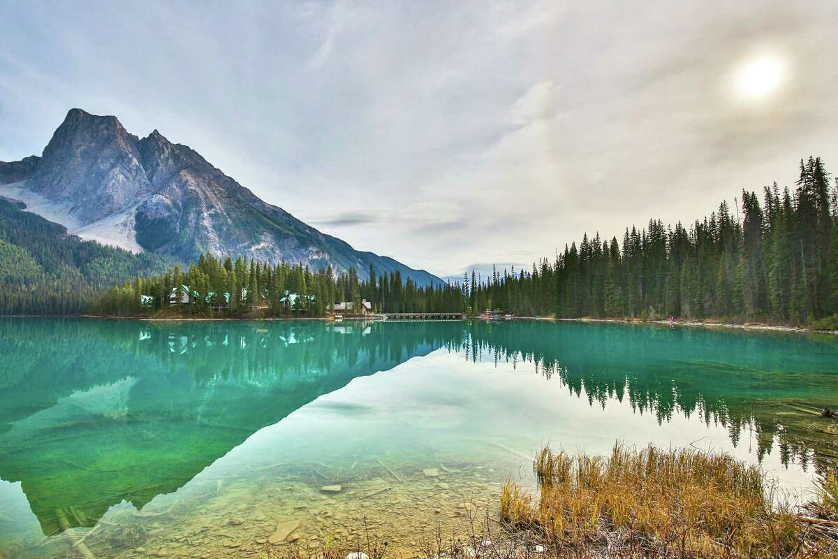 Emerald Lake, BC, Canada Emerald Lake is in Yoho National Park, British Columbia, Canada. It is the largest of Yoho's 61 lakes and ponds, as well as one of the park's premier tourist attractions.