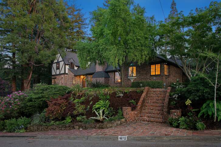1872 Brentwood Road in Oakland's Upper Oakmore neighborhood is a three-bedroom Tudor listed for $1.249 million.�