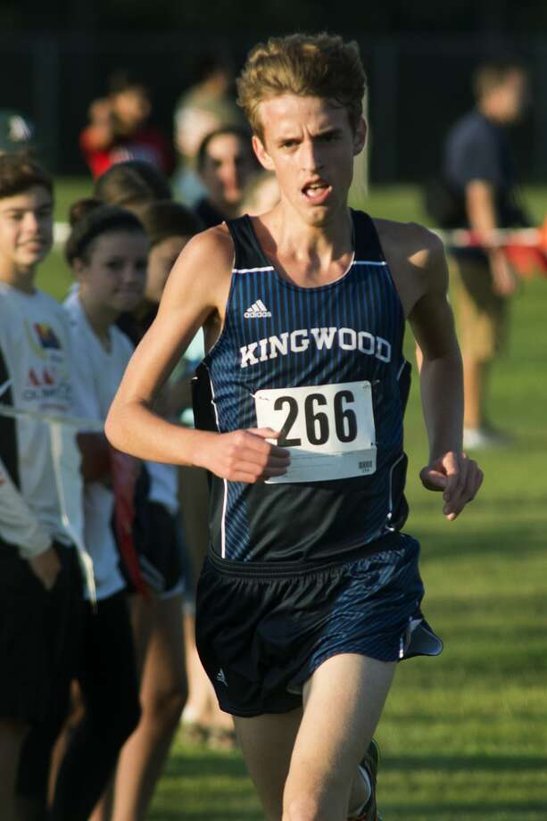 Kingwood senior Harry Bellow will compete at the area meet this week. Photo: Jerry Baker, Freelance