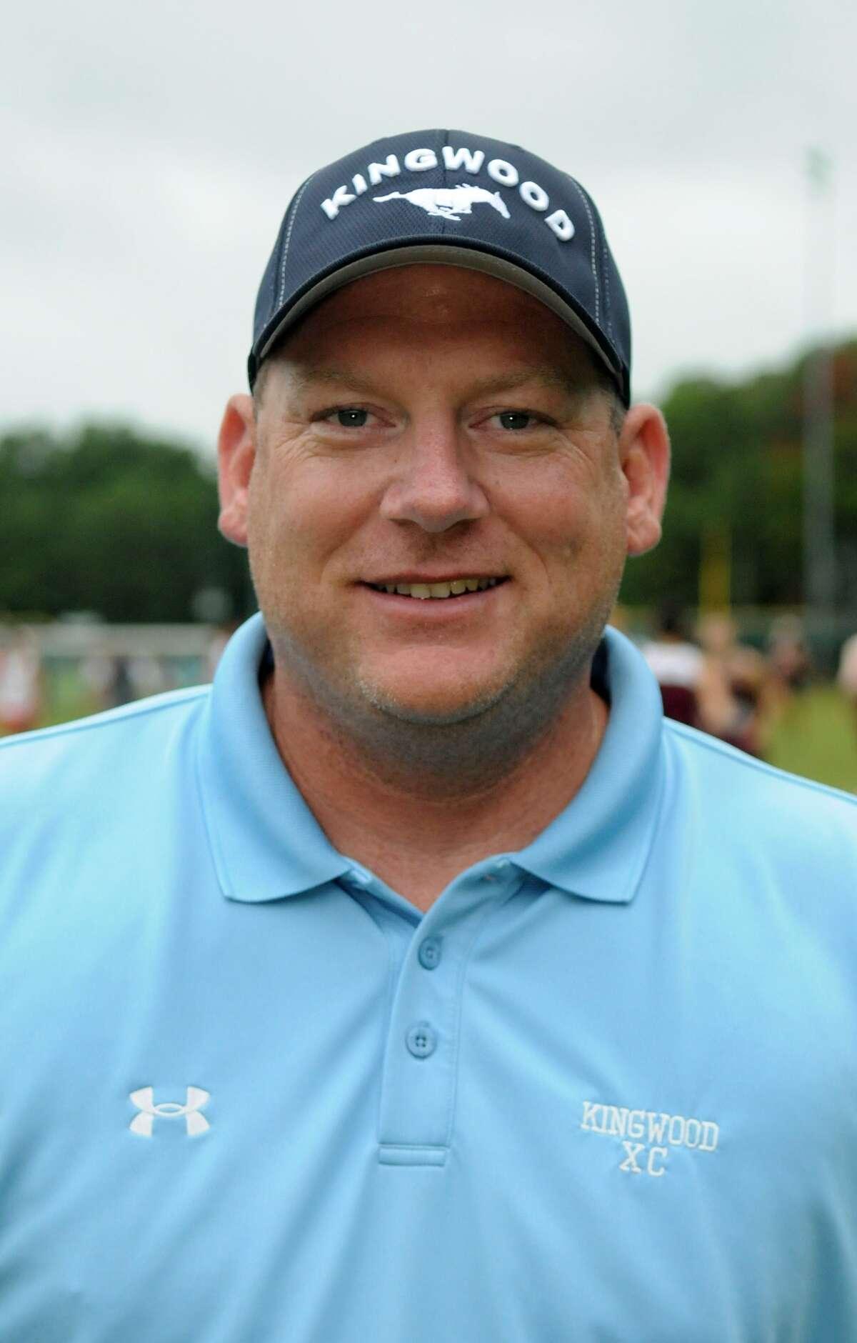 Kingwood Boys Cross Country Coach Tate Symons