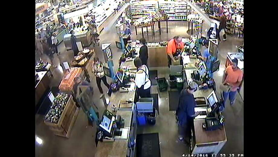 Grocery store chain Whole Foods released security camera footage Tuesday that they say contradicts claims made by Jordan Brown, an Austin-based pastor who is openly gay, that the store wrote an anti-gay slur on a cake he ordered. Photo: Screenshot Via YouTube