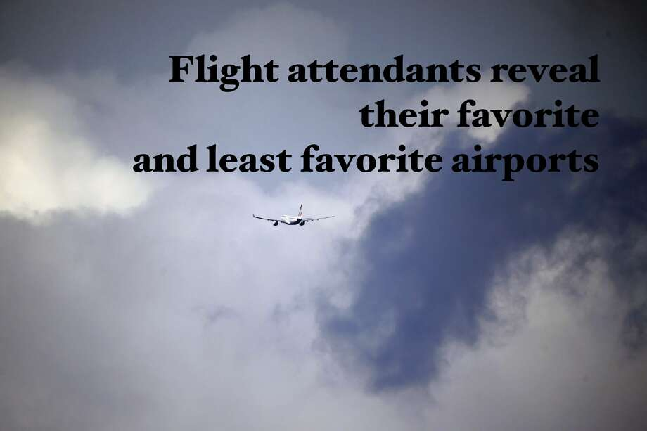 Pilots, flight attendants reveal favorite, least favorite airports