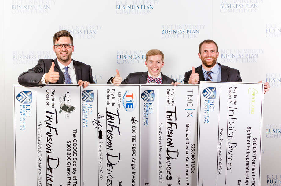 TriFusion Devices from Texas A&M University was the grand prize winner of the 2016 Rice Business Plan Competition. Photo: Photo Courtesy Of The Rice Alliance For Technology And Entrepreneurship / Slyworks Photography