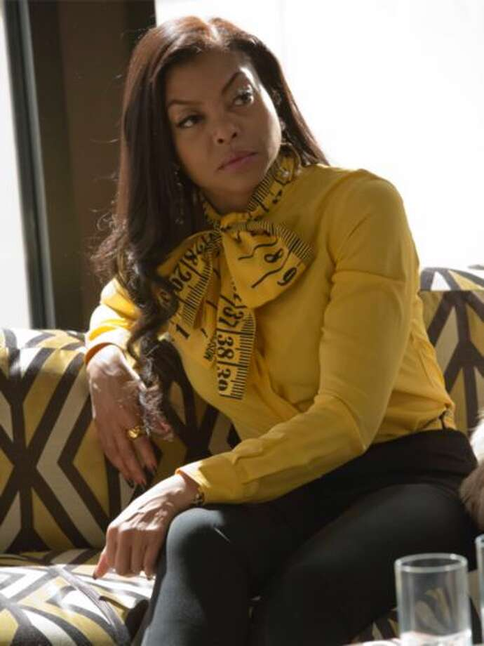 "Cookie Lyon (Taraji P. Henson) appears on a recent episode of Fox's ""Empire"" wearing a Moschino measuring tape blouse. Photo: Courtesy Photo"