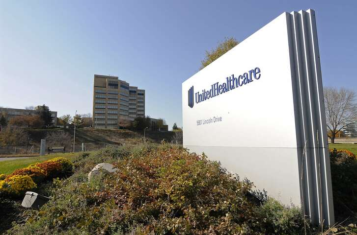 FILE - This Tuesday, Oct. 16, 2012, file photo, shows a portion of the UnitedHealth Group Inc.'s campus in Minnetonka, Minn. UnitedHealth reports financial results Tuesday, April 19, 2016. (AP Photo/Jim Mone, File)