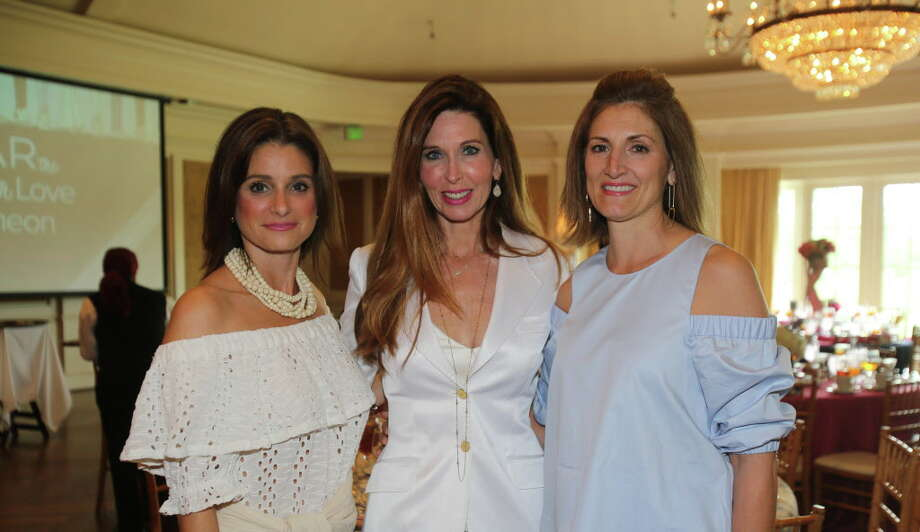 Natalie Faust, Michelle Stewart, and Jean Jenner at BEAR the Load with Love Luncheon Photo: Amber Elliott, Houston Chronicle / © 2016  Houston Chronicle