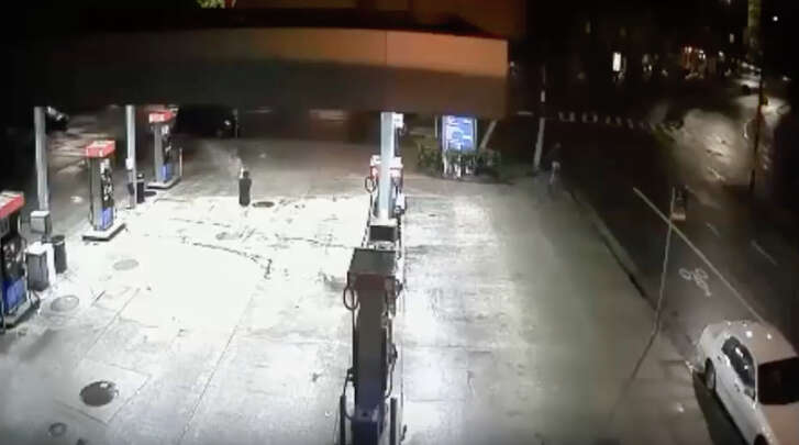 Berkeley police are working to track down a shooting suspect, seen in this security footage still.