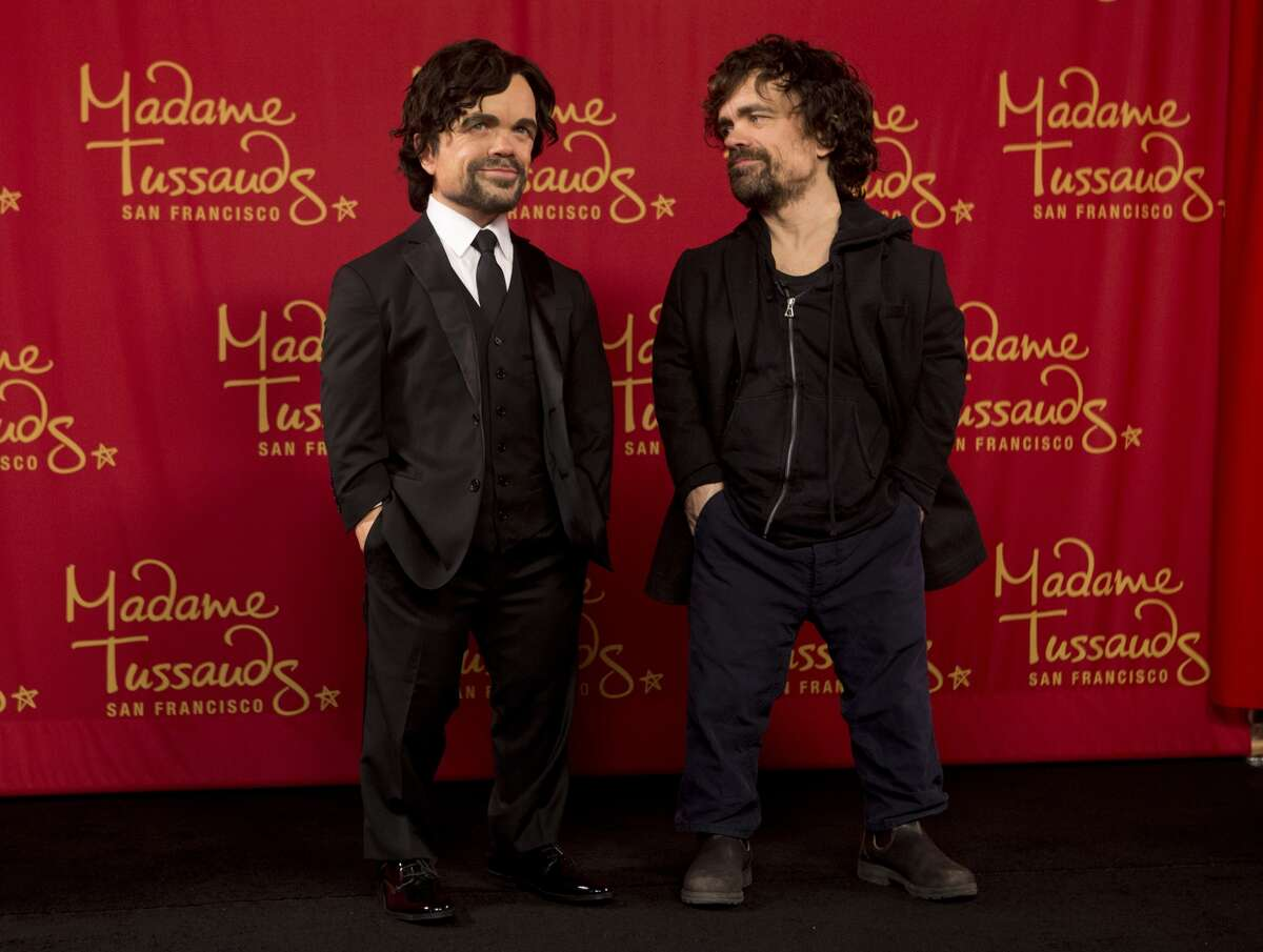 Madame Tussauds in San Francisco reveals a new wax figure of Peter Dinklage on Tuesday, April 19, 2016.