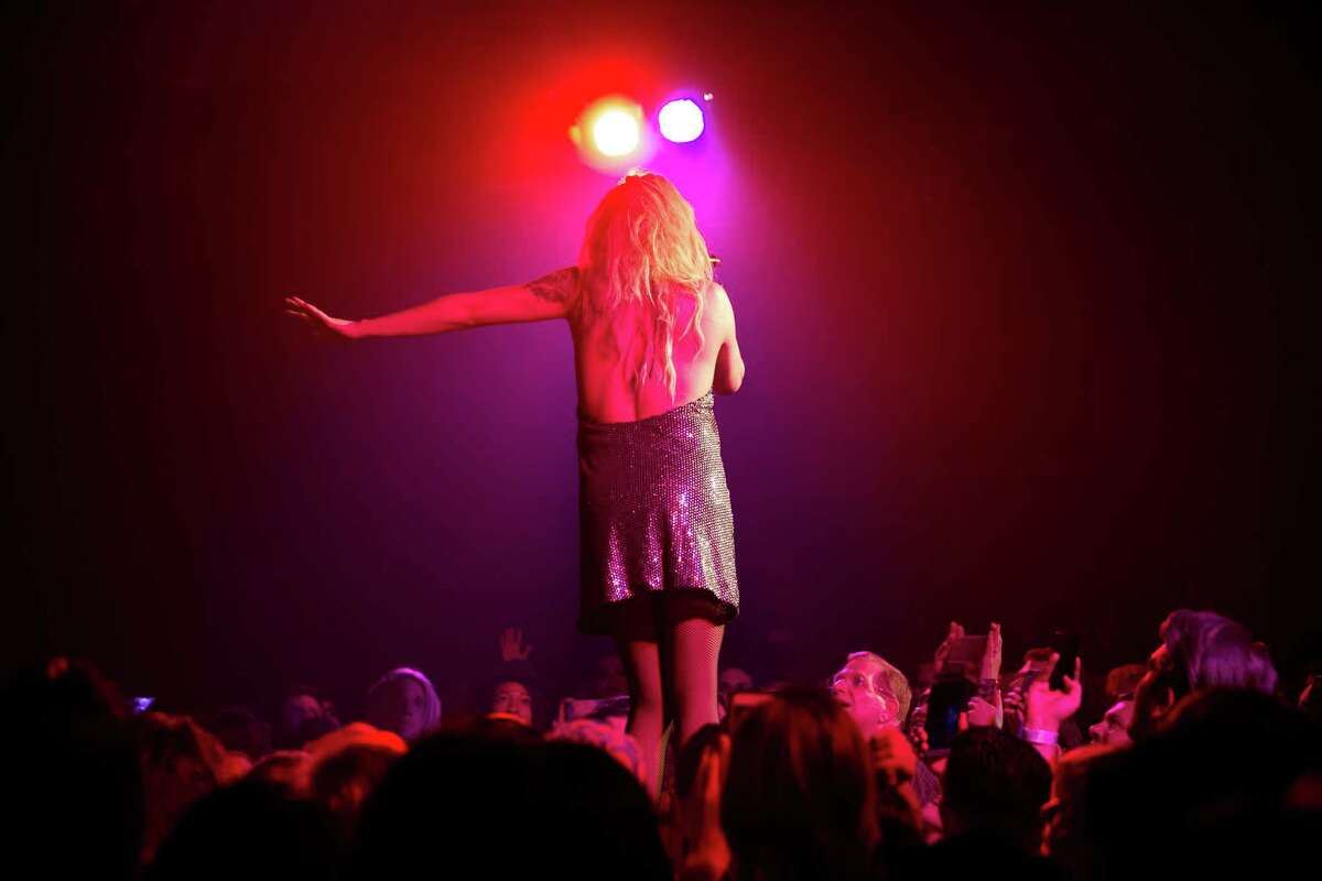 Adore Delano performs in RuPaul's Drag Race Battle of the Seasons 2016 Extravaganza Tour at Showbox Sodo on Tuesday, April 19, 2016.