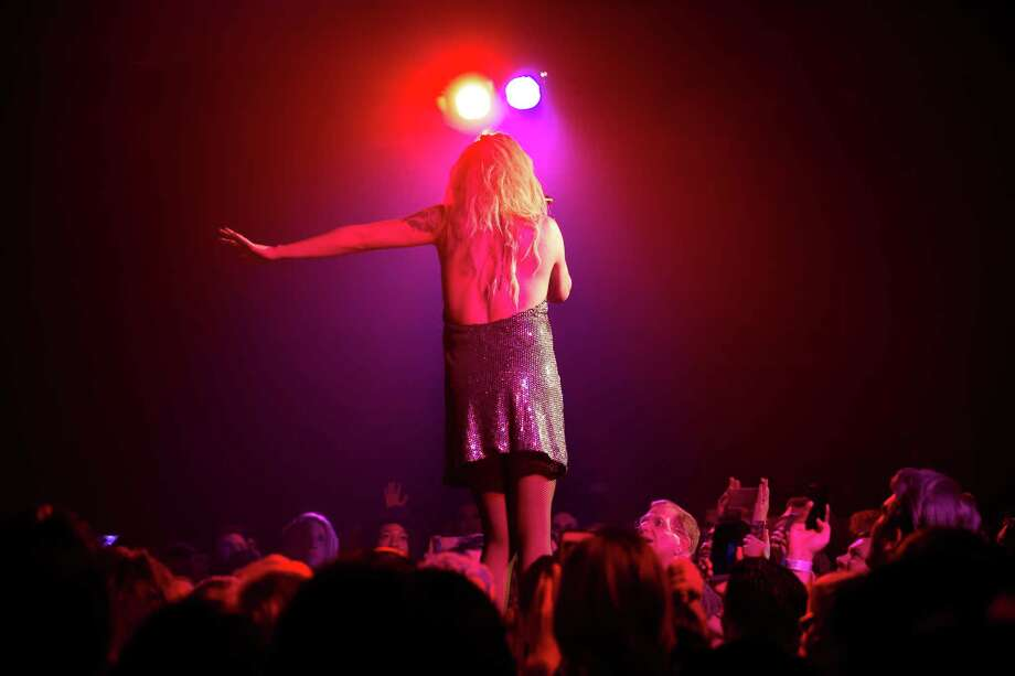 Adore Delano performs in RuPaul's Drag Race Battle of the Seasons 2016 Extravaganza Tour at Showbox Sodo on Tuesday, April 19, 2016. Photo: GRANT HINDSLEY, SEATTLEPI.COM / SEATTLEPI.COM