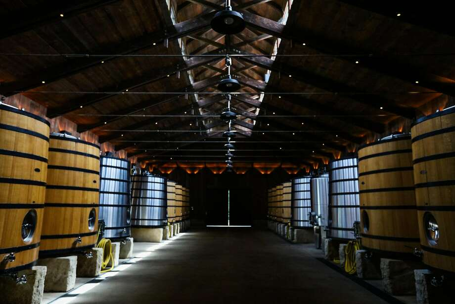 The fermentation room at Harlan Estate in Napa. Photo: Gabrielle Lurie, Special To The Chronicle
