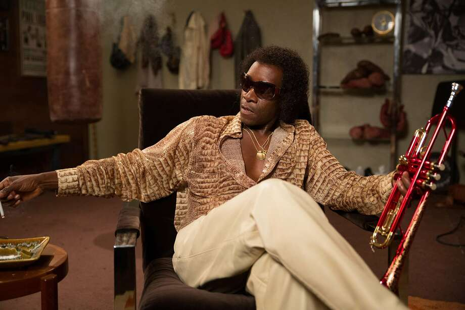 """Miles Ahead,"" starring Don Cheadle, portrays Miles Davis as a violent talent. Photo: Sony Pictures Classics, TNS"