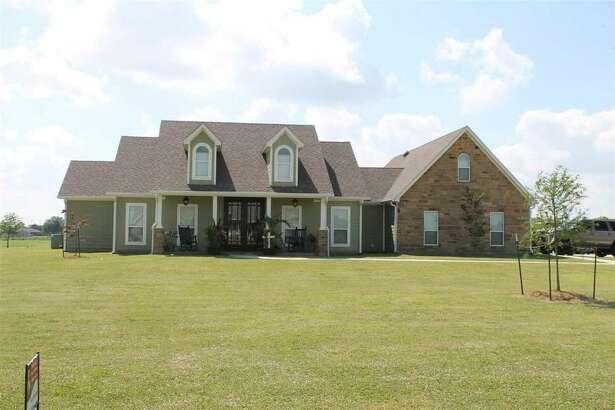 11600 Ridgecrest Dr., Beaumont, Texas 77705.   $350,000. 3 bedrooms; 3 full bathrooms. 2,504 sq. ft., 2.6 acres.