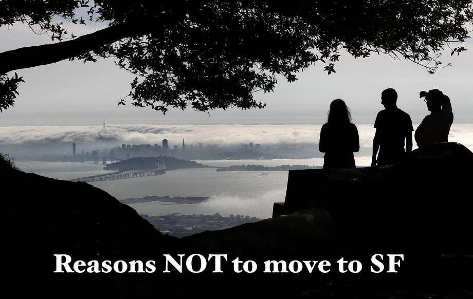 Moving to San Francisco? We love it here tremendously, but there are some drawbacks to consider before you officially call the City by the Bay home ... Photo: Michael Macor, The Chronicle