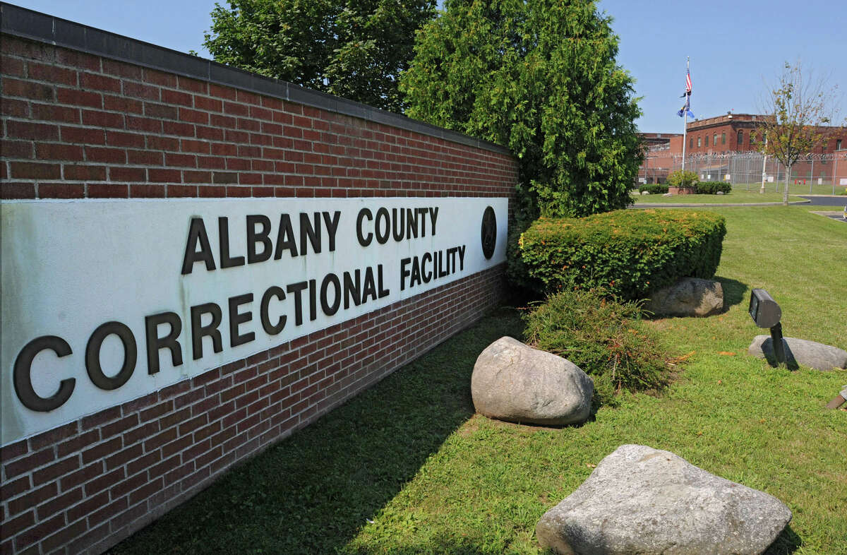 Exterior of the Albany County Jail in Colonie. (Lori Van Buren / Times Union)