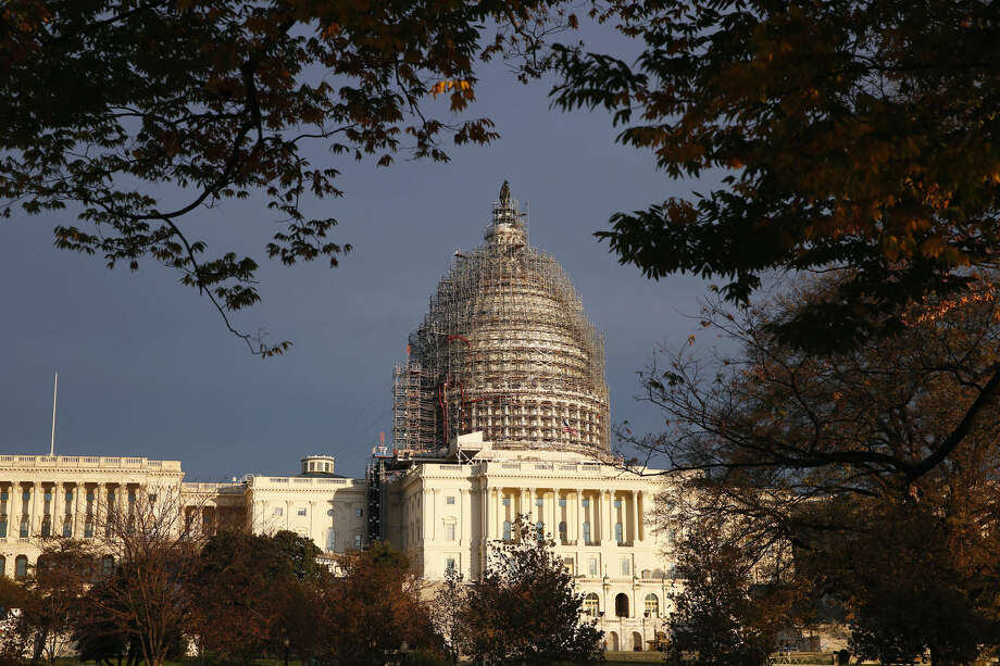 """FILE - In this Nov. 22, 2015 file photo, The Capitol dome is seen on Capitol Hill. It's been like a long-delayed New Year's resolution for the GOP. But 2016 will finally be the year congressional Republicans put legislation on President Barack Obama's desk repealing """"Obamacare."""" (AP Photo/Alex Brandon, File) Photo: Alex Brandon"""