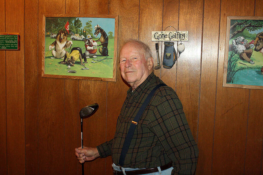 Bill Burrows has been an avid golfer since the 1950s. He says he was hard to beat in his younger days. Burrows also has been a blacksmith and welder since he learned the trade from his dad as a youngster.