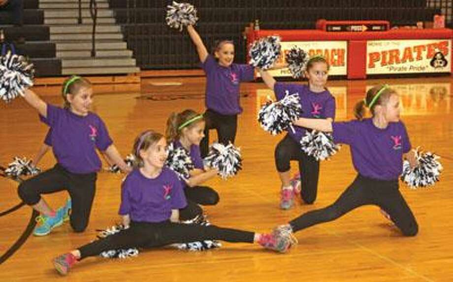 Zion Motion is a group of young cheerleaders.