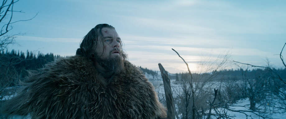 "This photo provided by courtesy of Twentieth Century Fox shows, Leonardo DiCaprio as Hugh Glass, in a scene from the film, ""The Revenant,"" directed by Alejandro Gonzalez Inarritu. (Courtesy Twentieth Century Fox via AP) Photo: Uncredited"