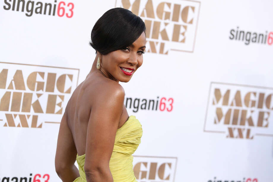 "In a Thursday, June 25, 2015 file photo, Jada Pinkett-Smith arrives at the Los Angeles premiere of ""Magic Mike XXL"" at the TCL Chinese Theatre. Calls for a boycott of the Academy Awards are growing over the Oscars' second straight year of mostly white nominees, as Spike Lee and Jada Pinkett Smith each said Monday, Jan. 17, 2016, that they will not attend this year's ceremony. (Photo by Paul A. Hebert/Invision/AP, File) Photo: Paul A. Hebert"