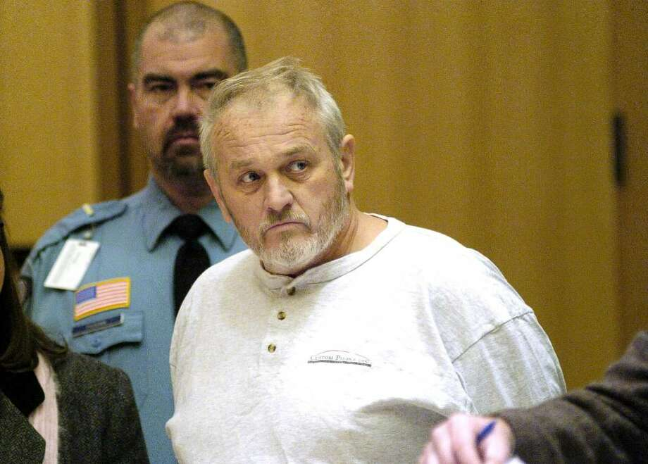 FILE – Adam Dobrzanski, charged with first-degree murder in the killing of his daughter, Amanda, during his arraignment in Janurary. Photo: File Photo / Stamford Advocate File Photo