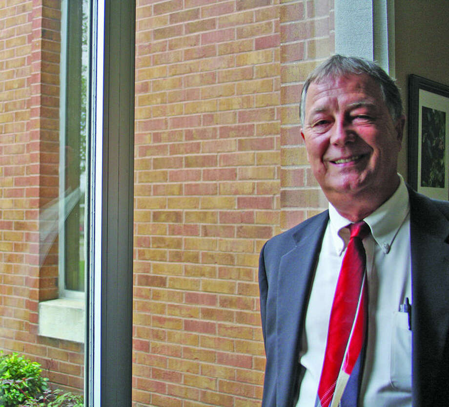 Chris Aldridge/Huron Daily TribuneNew Huron Medical Center Chief Executive Officer Jeffrey Longbrake says there are many challenges facing health care providers.