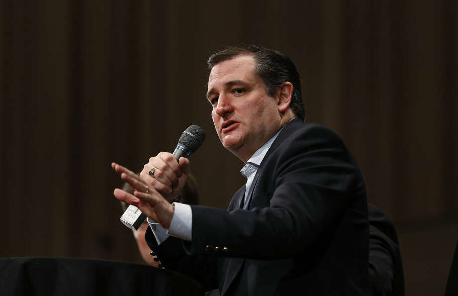 Republican presidential candidate, Sen. Ted Cruz, R-Texas, speaks during a Faith and Family Presidential Forum at Bob Jones University, Friday, Feb. 12, 2016, in Greenville, S.C. (AP Photo/Paul Sancya) Photo: Paul Sancya