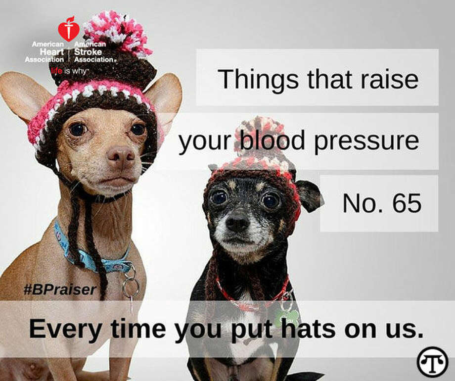 Read about things that raise your blood pressure at www.heart.org/bpraisers. (NAPS)