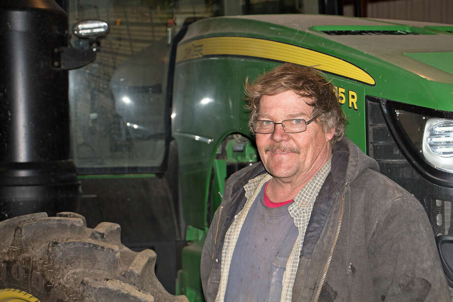 Tony Kretzschmer is a third generation farmer. He is the chief mechanic of Kretzschmer Brothers Farms. His cousin, Mark, takes care of the record keeping and ordering seed, fertilizer and other supplies.