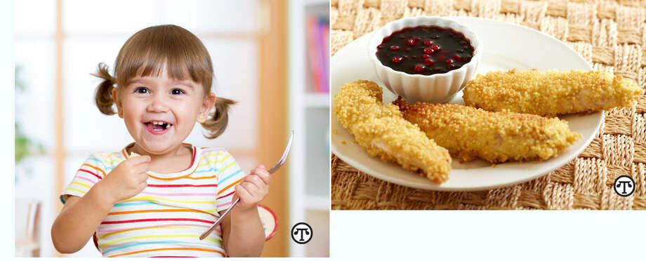 For a nutritious, delicious dish your kids are likely to love, try this saucy switch on ordinary chicken fingers. (NAPS)