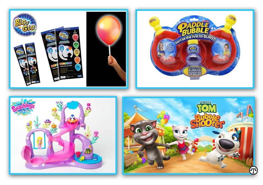 You and your family may well bubble over with delight enjoying the latest bubble-based toys and games. (NAPS)