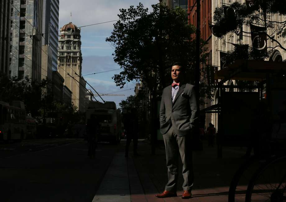 Corporate public relations specialist Justin Jones has incurred the anger of the Kennedy family with the activities of his Robert F. Kennedy Democratic Club. Photo: Leah Millis, The Chronicle
