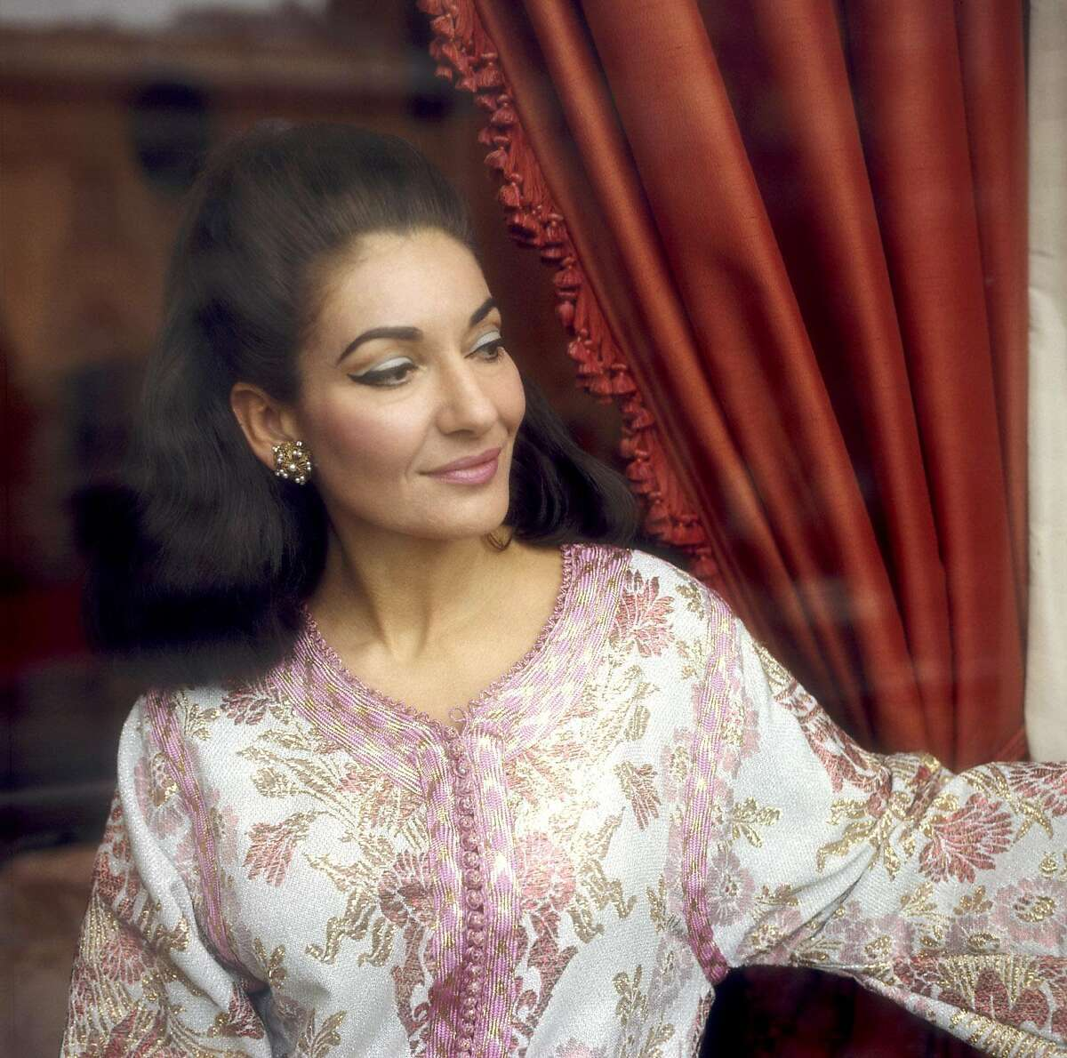 """Maria Callas, seen in this undated photo by Christian Steiner, is one of the star musicians who have faced the camera of what the New York Times called """"the world's premier photographer of divas and conductors."""" Steiner is artistic director of the Tannery Pond chamber music series which welcomes some of today's finest musicians, who also happen to be Steiner's friends. (AP Photo/Christian Steiner)"""