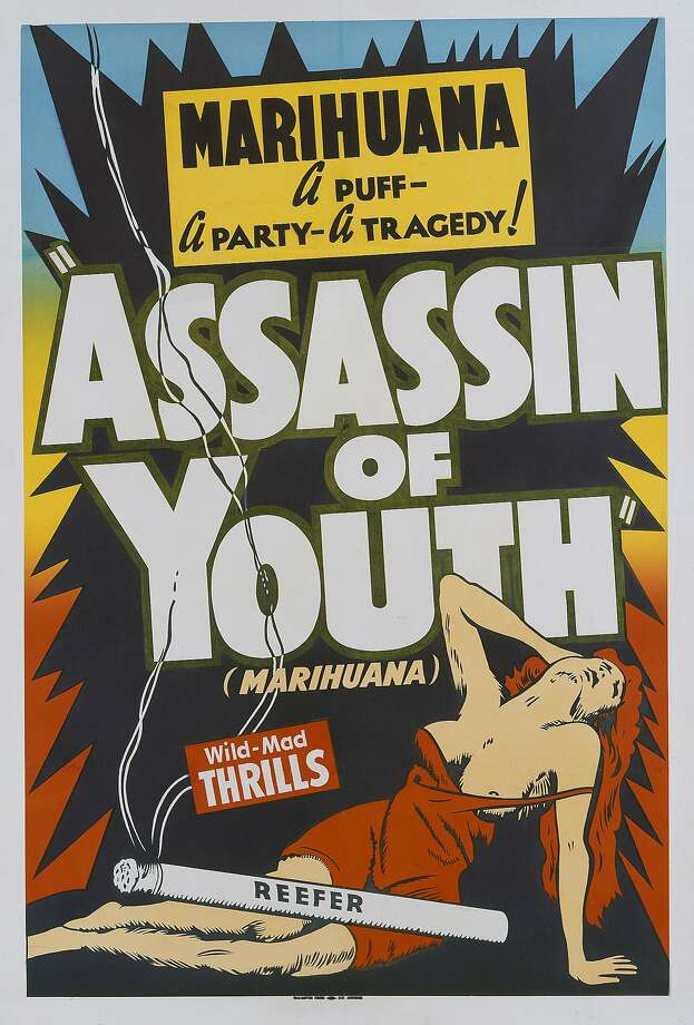 "You may have seen ""Reefer Madness,"" the 1936 film about the dangers of marijuana, but the infamous propaganda piece wasn't the only anti-weed movie of its time.Above: ""Assassin of Youth,"" a 1937 film about a journalist who infiltrates a youth gang of marijuana dealers. Photo: Movie Poster Image Art, Getty Images"