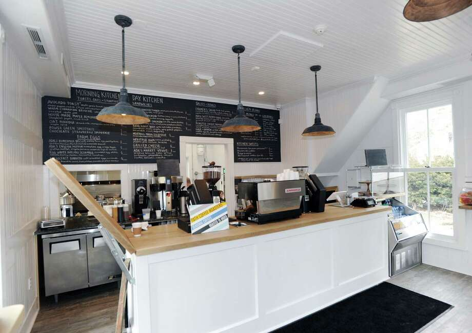 The newly renovated interior of Ada's Kitchen & Coffee that re-opened in February 2016 at 112 Riverside Avenue in Greenwich, Conn. The availability of financing for commercial real estate projects continued into the early months of 2016 with area banks reporting significant competition in the bid to land borrowers. Photo: Bob Luckey Jr. / Hearst Connecticut Media / Greenwich Time