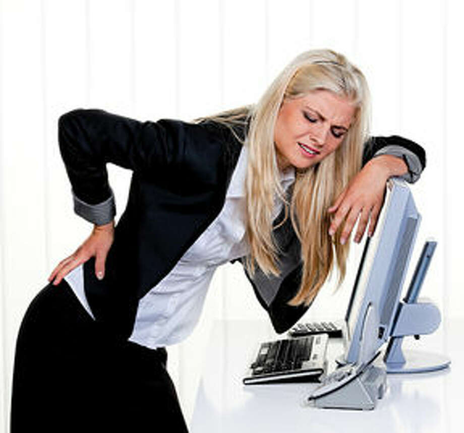 Chiropractors can help you deal with pain caused from repetitive workplace tasks.
