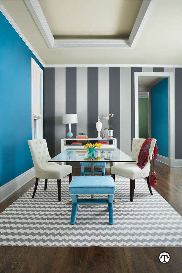 Personalize your space with touches of unexpected color. (NAPS)