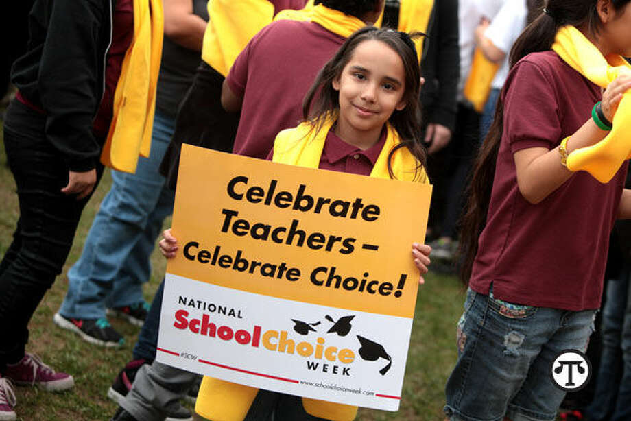 Children from all over celebrate education during National School Choice Week. (NAPS)