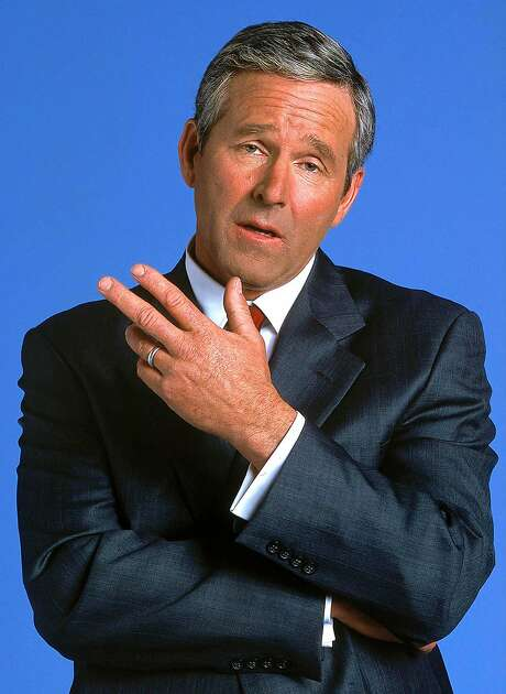 "Timothy Bottoms as President George W. Bush in Comedy Central's ""That's My Bush!"" Photo: MARK FELLMAN, AP"