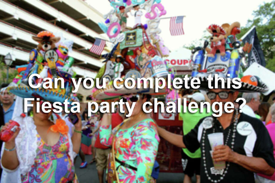 Complete these 14 steps and you can call yourself the ultimate Fiesta party animal. Photo: San Antonio Express-News