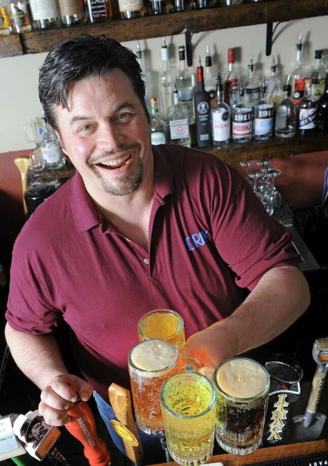 Excelsior Pub owner Jason (Jay) Bowers on Friday April 15, 2016 in Albany , N.Y. (Michael P. Farrell/Times Union) Photo: Michael P. Farrell / 10036200A