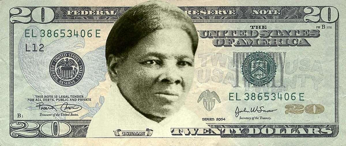Concept art of Harriet�Tubman�on the $20 bill. (Photo courtesy Women on 20s/TNS)